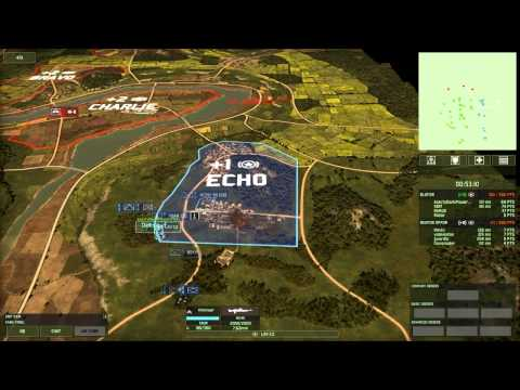 Wargame Red Dragon Open Beta: Japanese deck in conquest.