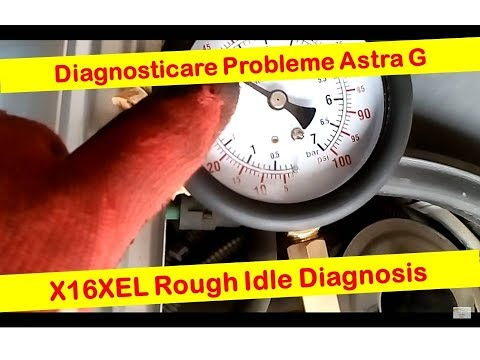 Diagnoza Astra G --  X16XEL Diagnosing a Rough Idle, no Power, Engine Stall