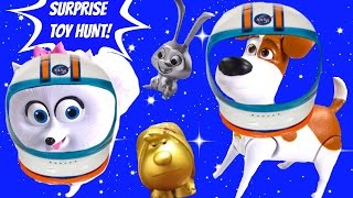 The Secret Life of Pets Toy Surprise Blind Bag Hunt! Dinosaurs, Space Travel!