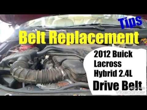 2012 Buick LaCrosse belt replacement