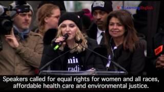 Women's March Goes Global