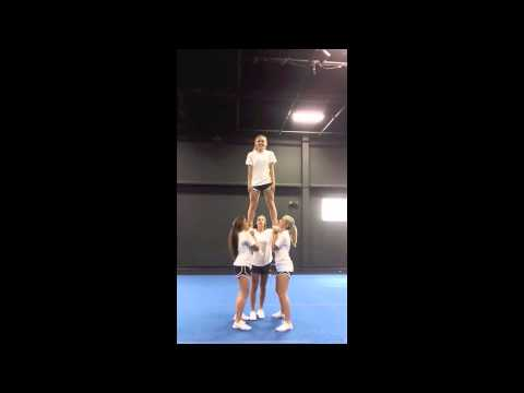 Advanced Cheerleading Stunt Progression: Prep to Extension