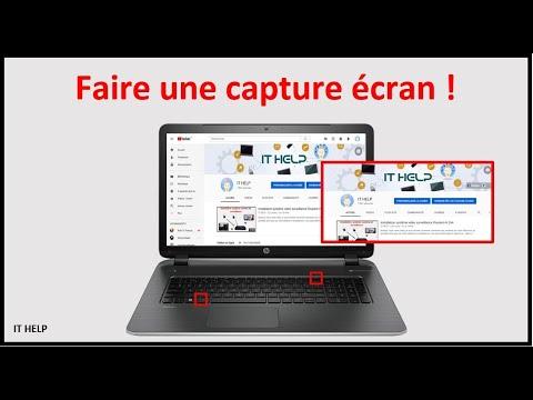 Comment faire capture écran pc portable, ordinateur