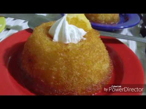 Gâteau au sirop d'Orange.. كعك بشاربات البرتقال