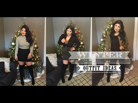 Winter Outfit Ideas | How To Style Thigh high boots