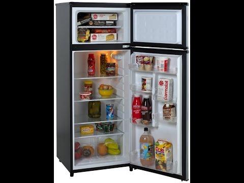 Avanti RA7316PST 2-Door Apartment Size Refrigerator, Black with Platinum Finish Review