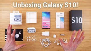 Download Galaxy S10 Unboxing - What's Included! Video