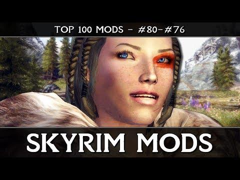 SKYRIM MODS - TOP 100: #80-76 - Facial Animations, Better Females & Cloaks Cloaks Cloaks!