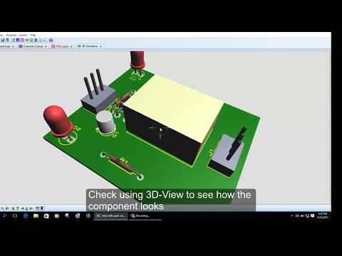 How to create schematic and pcb with proteus 8