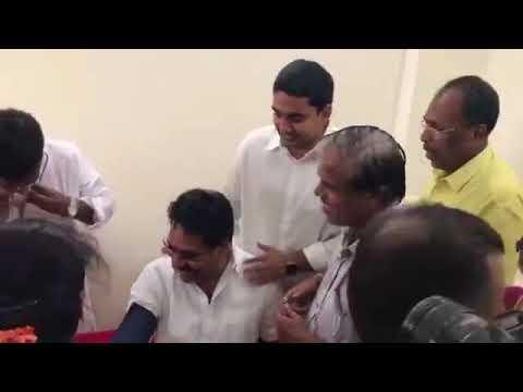 Lokesh in Kuppam Constituency