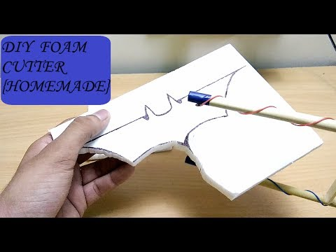 How To Make a Foam Cutter at Home// DIY // Without batteries