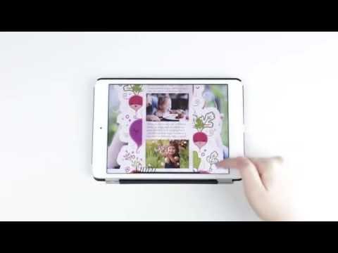 Interactive Digital Publishing - Magazine Work - Navigation and design details