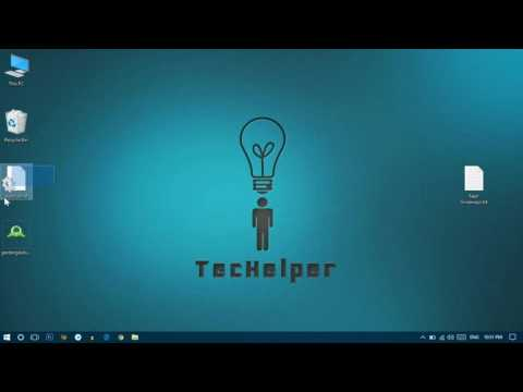 How To Change ICON of External HDD, SD cards, Pen drives | TecHelper