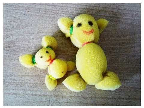How to make a soft toy in less than 2 minutes