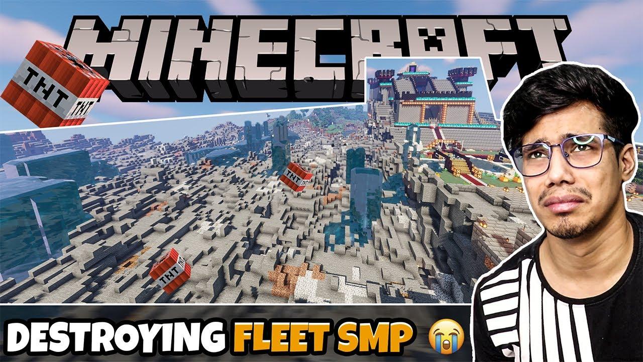 I DESTROYED Fleet SMP