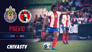 EN VIVO: Chivas Femenil vs. Xolos | Jornada 6 | LigaMX Femenil  | CHIVASTV | PREVIO