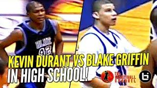 Kevin Durant vs Blake Griffin IN HIGH SCHOOL Highlights! Ty Lawson & Sam Bradford Too!
