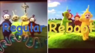 Teletubbies Intro Comparison (Regular vs Reboot)