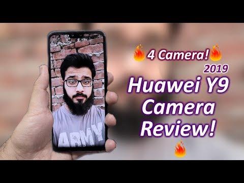 Huawei Y9 2019 Camera Review! 4 CAMERAS 🔥🔥🔥