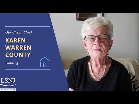 Karen: LSNWJ Helps Preserve Affordable Housing
