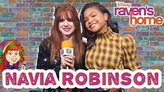 Navia Robinson from Raven's Home Drops in for an Interview!