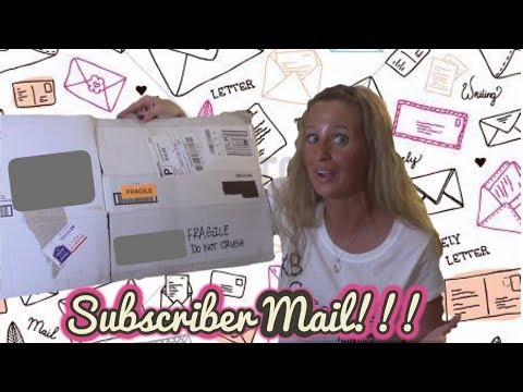 This weeks Subscriber Mail.....