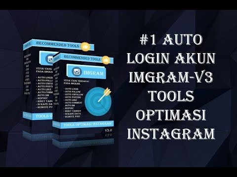 Cara menggunakan Fitur Auto Login imGram-v3