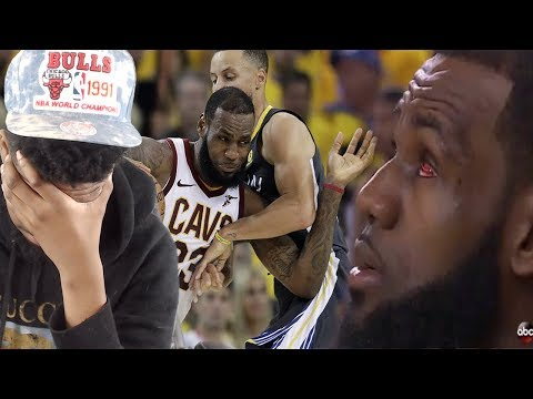LEBRON'S PLAYING WITH ONE EYE!! CAVS vs WARRIORS GAME 2 NBA FINALS HIGHLIGHTS