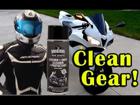 How To Clean Motorcycle Gear - Original Bike Spirits Leather Cleaner
