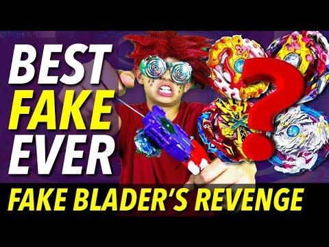 Best Fake Beyblade Ever : Fake Blader's Revenge : Beyblade Burst Episode IV