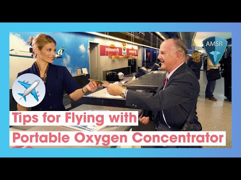Flying with a Portable Oxygen Concentrator