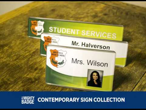 Mighty Badge - Contemporary Signs