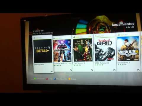 Destiny beta download/Descarga del beta de destiny (Xbox 360)