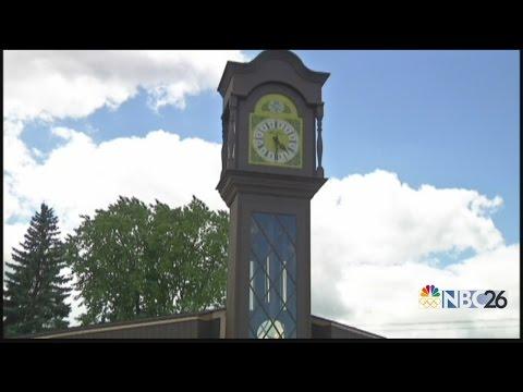 Worlds Largest Grandfather Clock Dedication