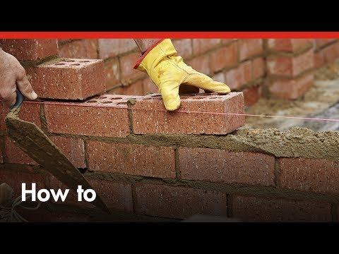 How To Build A Brick Wall - DIY At Bunnings