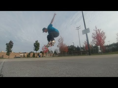 Full unedited raw footage - Fakie frontside 360