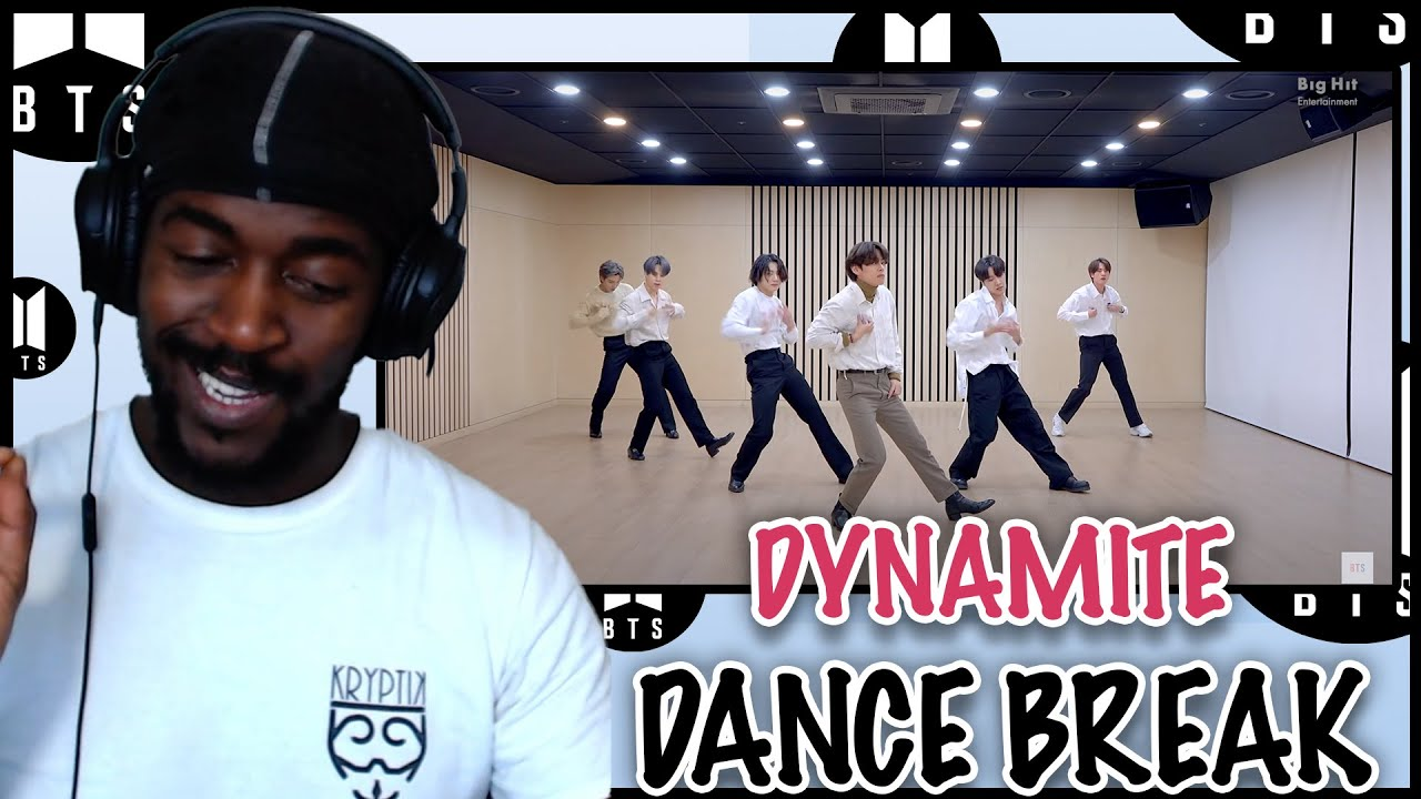 DANCER REACTS [CHOREOGRAPHY] BTS (방탄소년단) 2020 MMA 'Dynamite' Dance Break Practice REACTION