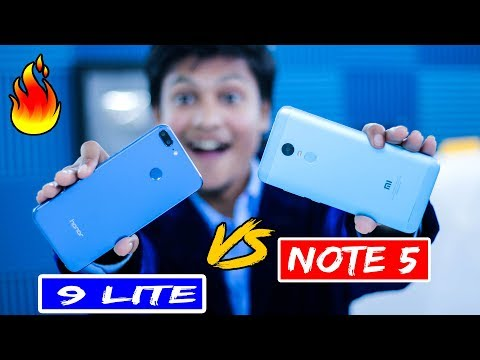 [HINDI] Redmi NOTE 5 Vs Honor 9 lite | Shocking Experience and Live Speed test | TechnoBaaz