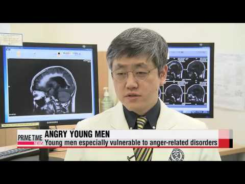 Young men most prone to anger-related personality, behavioral disorders   욱하는 ′인