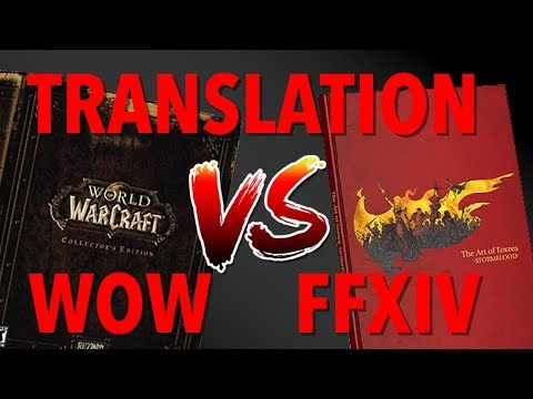 WOW Vs FFXIV Translation for over 60 terms! [WOW VS FF14]