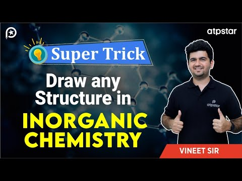 Trick to Draw any Structure in Inorganic chemistry - In Hindi