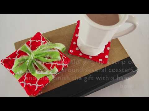 Tutorial: Easy-to-Make Christmas Coasters