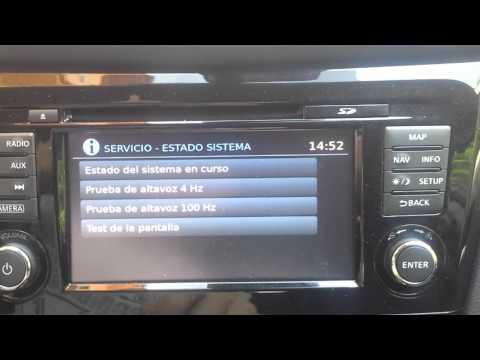 Nissan connect2 modo service