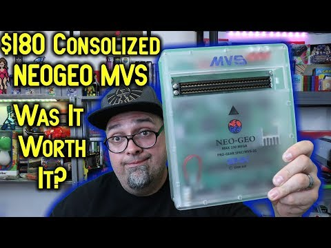 The CBOX $180 Consolized NeoGeo MVS Arcade! Is It Worth It?