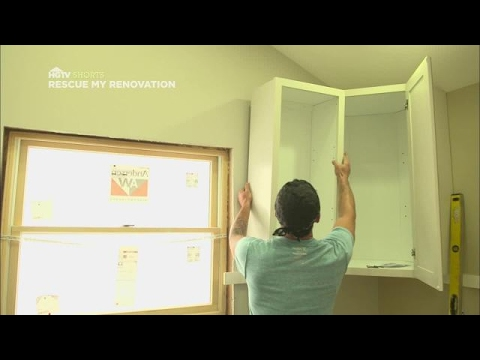 Cabinet Installation Quicktips | Rescue My Renovation | HGTV Asia