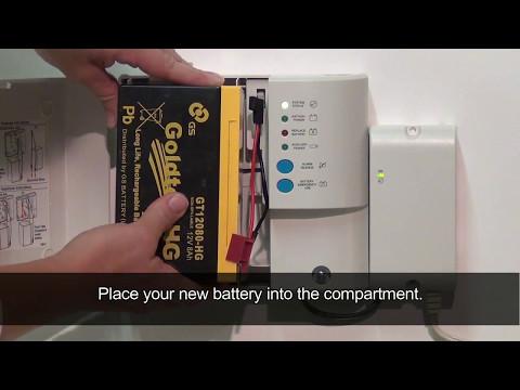 Replacing Your BBU Battery