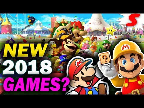 What NEW Mario Games Will We Get in 2018? 3 Ideas for New Mario Games