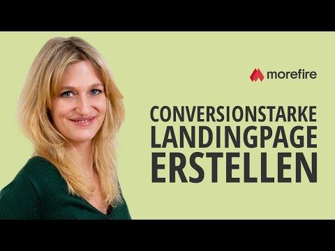 Conversionstarke Landingpages für Google AdWords erstellen | morefire
