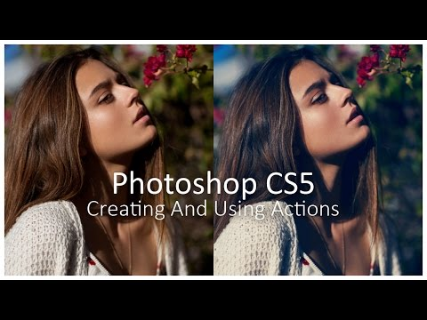 [Photoshop CS5] Creating And Using Actions - Tutorial