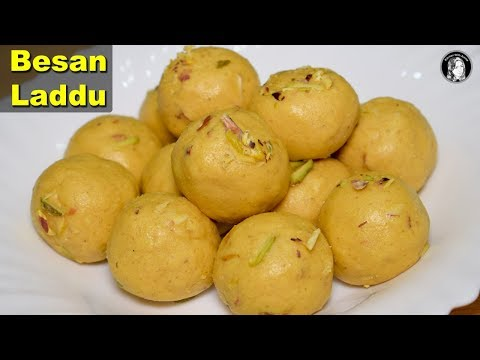 Besan Ke Ladoo (Complete and Perfect) Recipe - How to make Besan Laddu - Kitchen With Amna